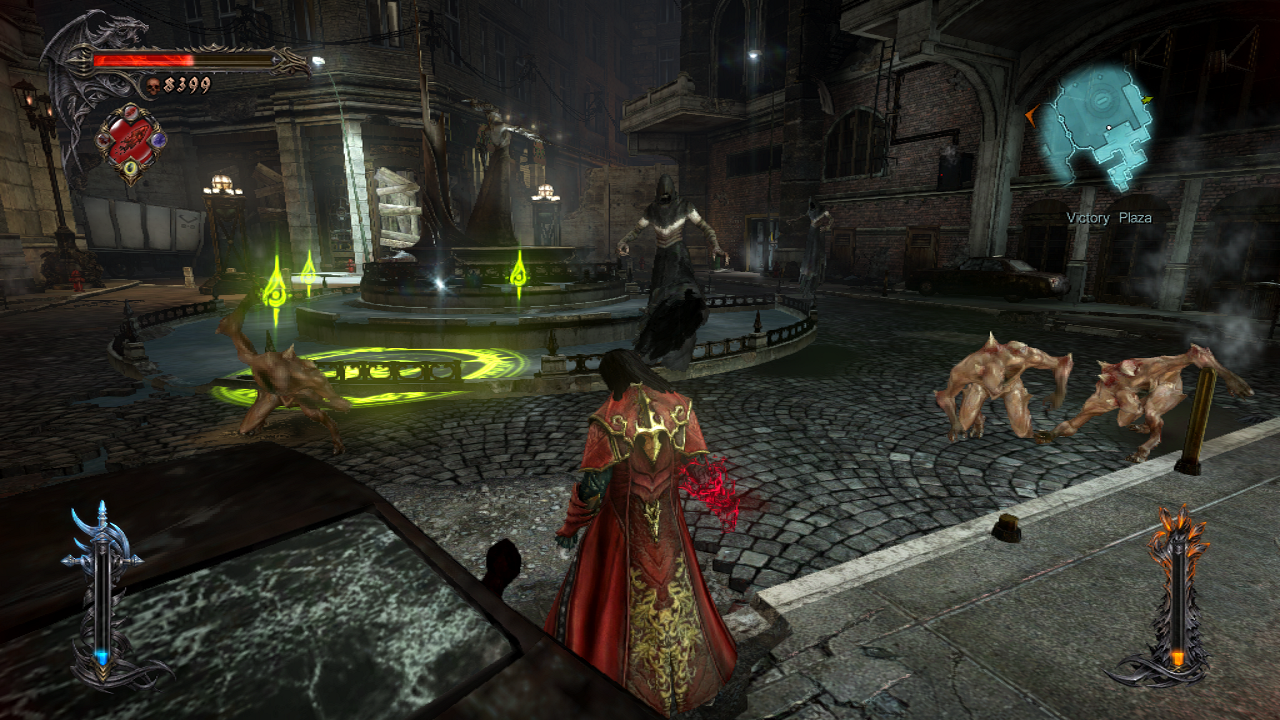 Dracula Doing Stuff in Lords of Shadow 2