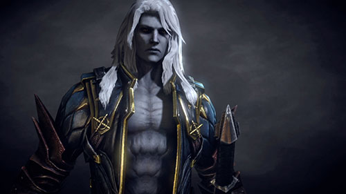 Alucard in Lords of Shadow 2
