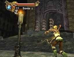 Sonia in Castlevania Resurrection