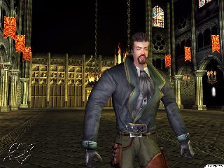 Victor in Castlevania Resurrection