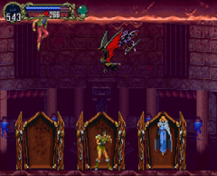 The Zombie Trio in Symphony of the Night