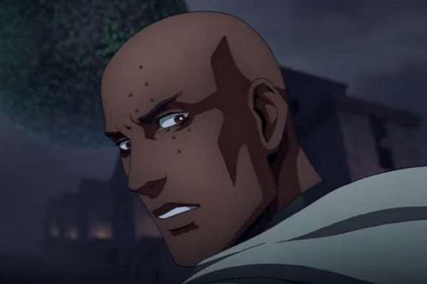 Isaac in Netflix's Castlevania